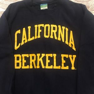 Cal Berkeley Champion Crewneck Sweatshirt Small